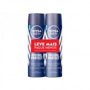 Kit Desodorante Antitranspirante Aerosol Men Original Protect 150 Ml