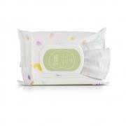 Lenços Umedecidos Com Fragrância Mamãe e Bebê 50 unidades
