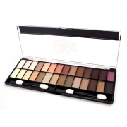 Paleta de Sombra 28 Colors Eyeshadow Miss France 26 g