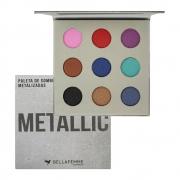 Paleta de Sombra Metallic Bella Femme 9 Shades 10 g