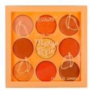 Paleta de Sombras 9 Cores Mango Style SP Colors 6 g