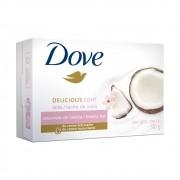 Sabonete em Barra Dove Delicious Care com Perfume de Leite De Coco 90 g
