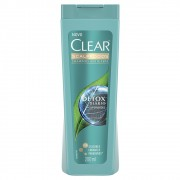 Shampoo Clear Anticaspa Detox Diário 200 Ml