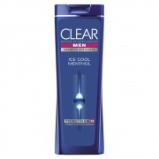 Shampoo Clear Anticaspa Ice Cool Menthol 200 Ml