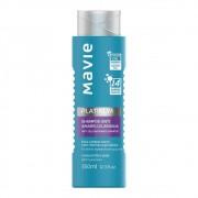Shampoo Vegano Anti-amarelo e Laranja Platinum - 350 Ml | Mavie
