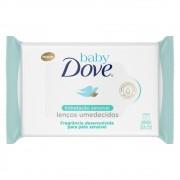 Toalhas Umedecidas Hidratação Sensivel - 50 Unid   Dove