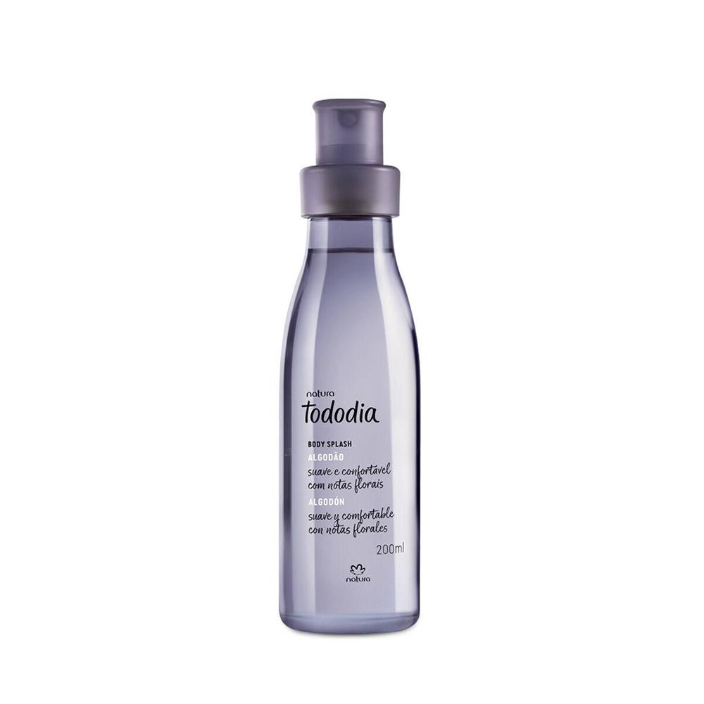 Algodão Body Splash Desodorante Colônia 200 Ml  - Flor de Alecrim - Cosméticos