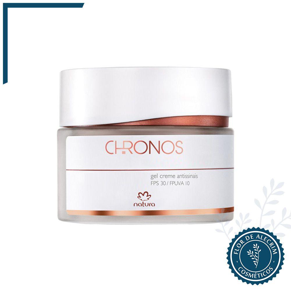Gel Creme Antissinais + 70 Dia Natura Chronos - 40 g | Natura  - Flor de Alecrim - Cosméticos
