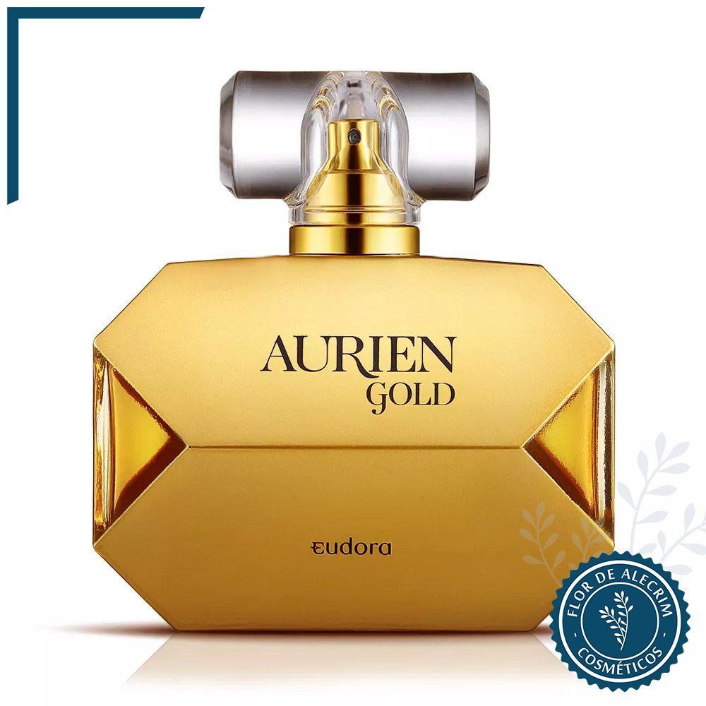 Aurien Gold - 100 ml   Eudora  - Flor de Alecrim - Cosméticos