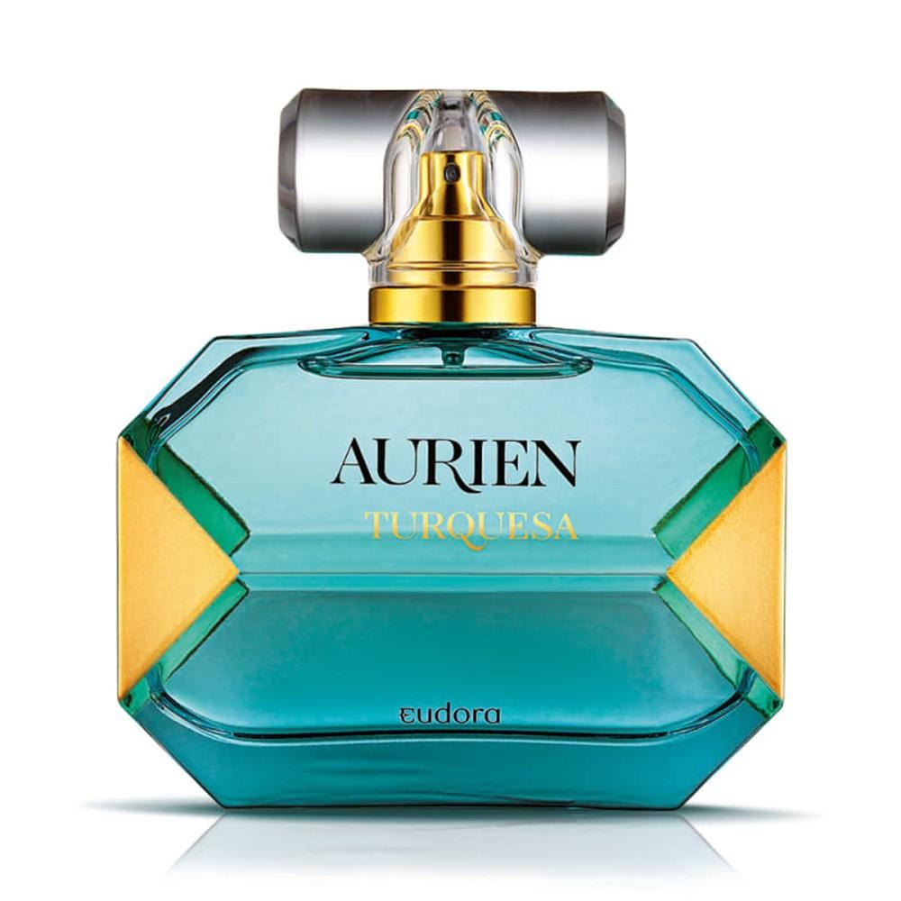 Aurien Turquesa Desodorante Colônia 100 Ml   - Flor de Alecrim - Cosméticos