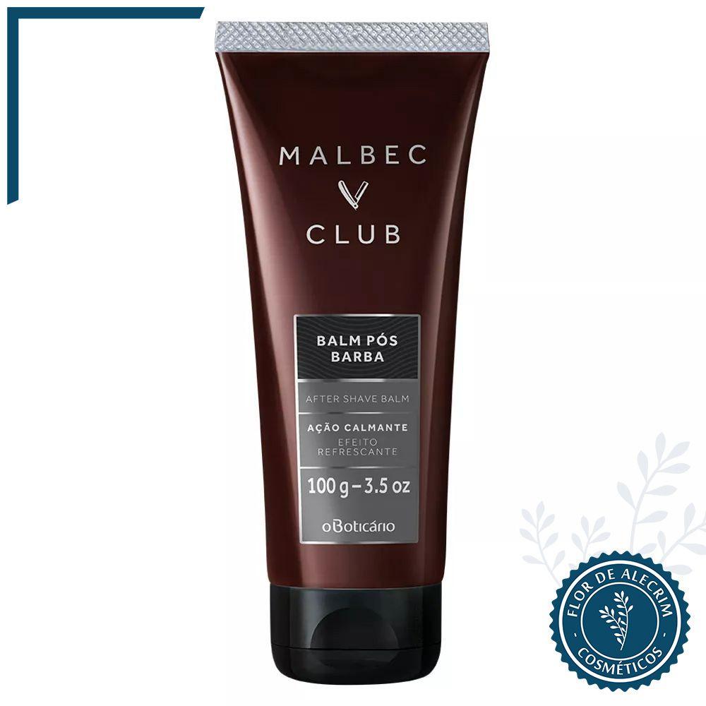 Pós Barba | Malbec Club 100 g  - Flor de Alecrim - Cosméticos