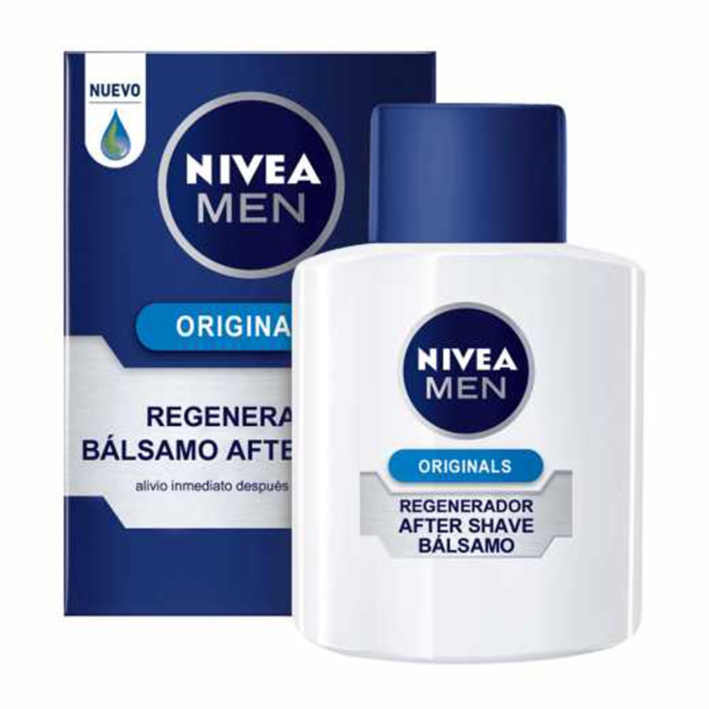 Balm Pós Barba Original Protect - 100 Ml | Nivea  - Flor de Alecrim - Cosméticos