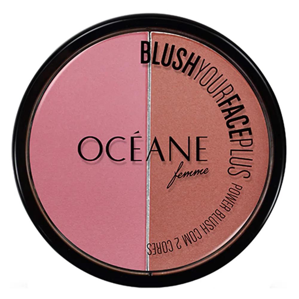 Blush Duo Your Face Plus Terra Océane 9,3 g  - Flor de Alecrim - Cosméticos
