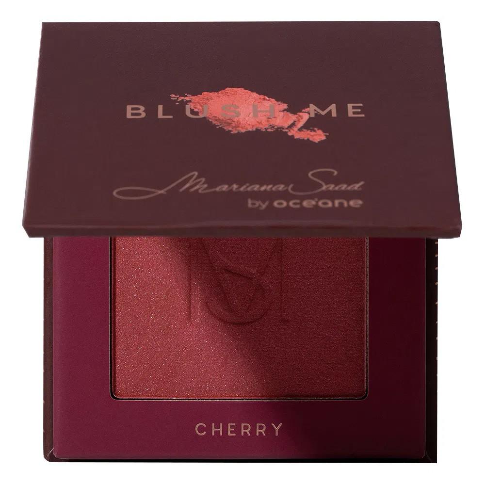 Blush Me Mariana Saad - Cherry | Océane  - Flor de Alecrim - Cosméticos