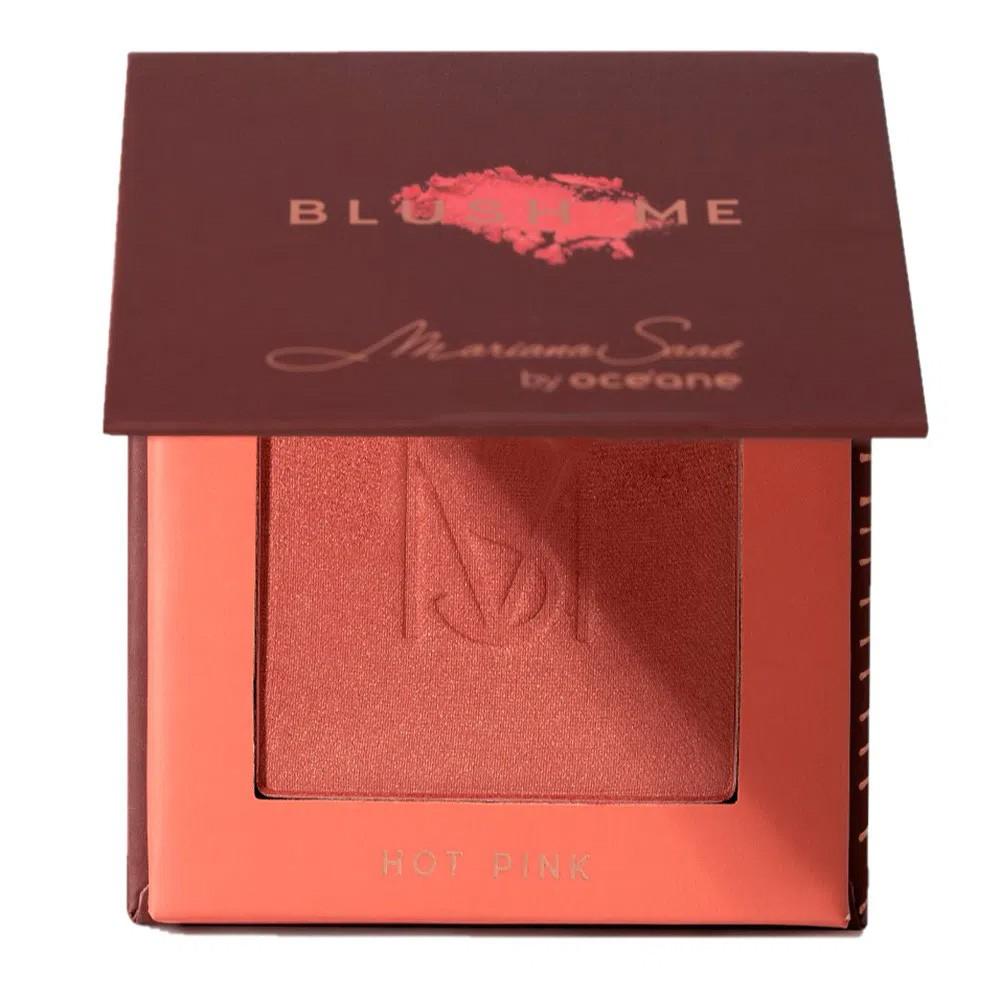 Blush Me Mariana Saad Hot Pink 6,5 g  - Flor de Alecrim - Cosméticos