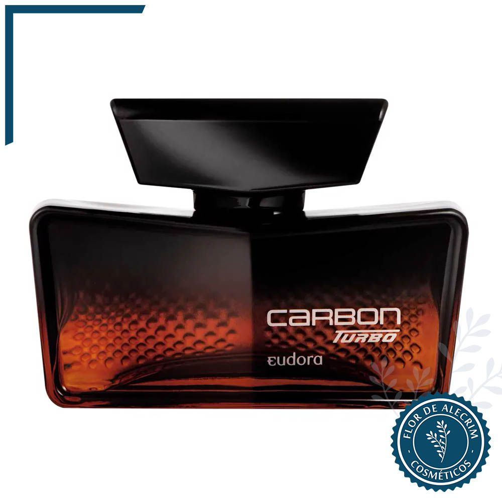Carbon Turbo - 100 ml   Eudora  - Flor de Alecrim - Cosméticos