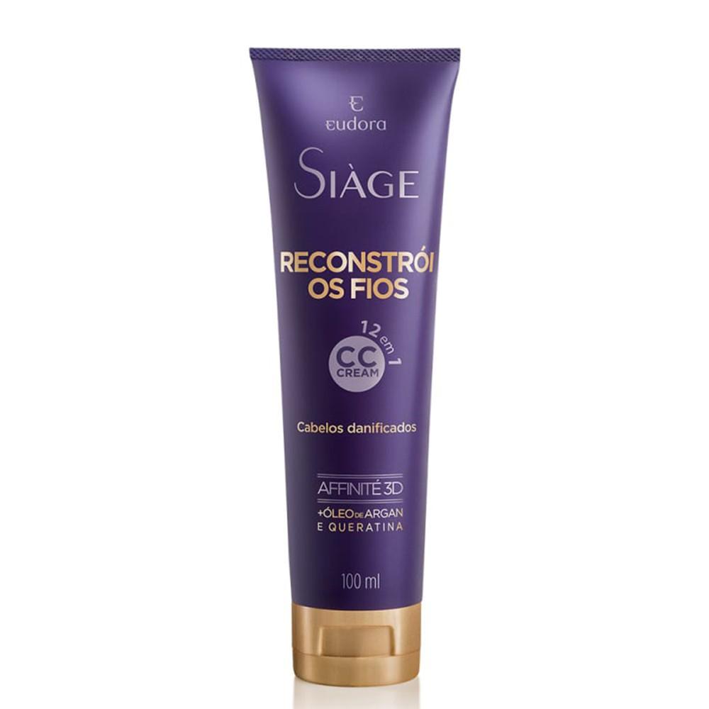 CC Cream Reconstrói os Fios Siàge - 100 ml | Eudora  - Flor de Alecrim - Cosméticos