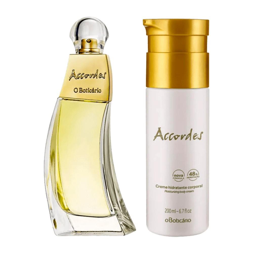 Combo Accordes: Desodorante Colônia + Creme Hidratante Corporal  - Flor de Alecrim - Cosméticos