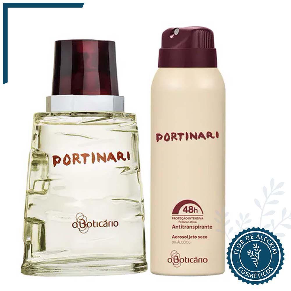Combo Portinari: Deo Colônia + Antitranspirante Aerossol | O Boticário  - Flor de Alecrim - Cosméticos