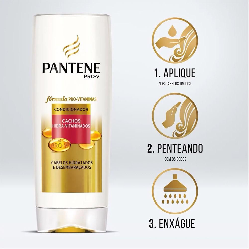 Condicionador Cachos Hidra-Vitaminados 400 Ml | Pantene   - Flor de Alecrim - Cosméticos