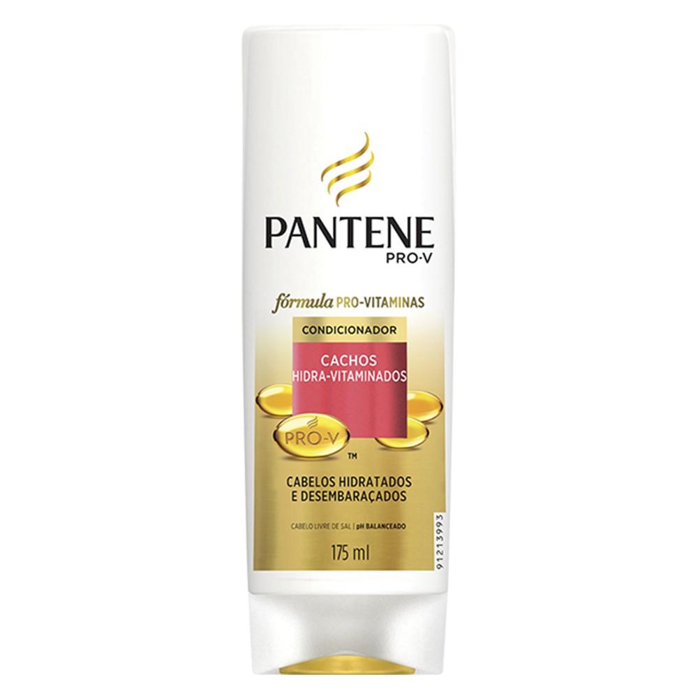Condicionador Pantene Cachos Hidra-Vitaminados 175 Ml  - Flor de Alecrim - Cosméticos