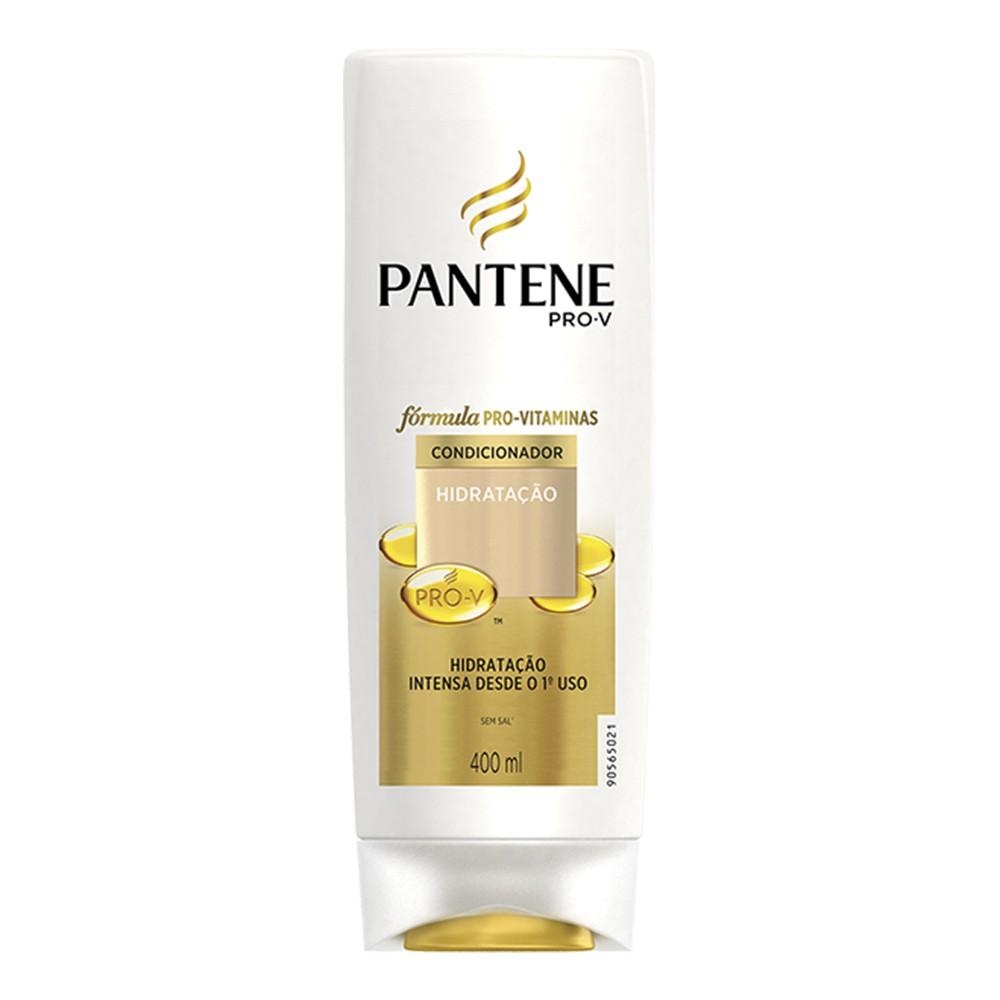 Condicionador Pantene Hidratação 400 Ml  - Flor de Alecrim - Cosméticos