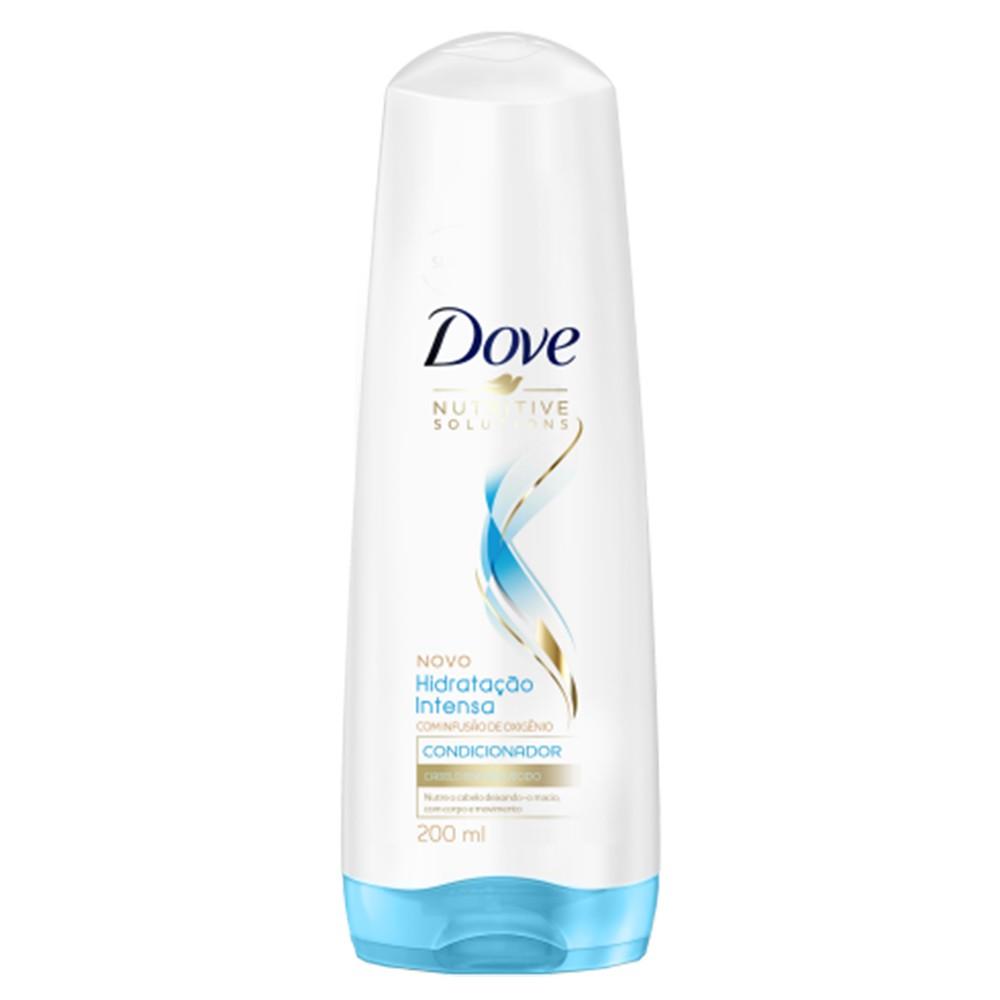 Condicionador Dove Hidratação Intensa com Infusão de Oxigênio 200 Ml  - Flor de Alecrim - Cosméticos