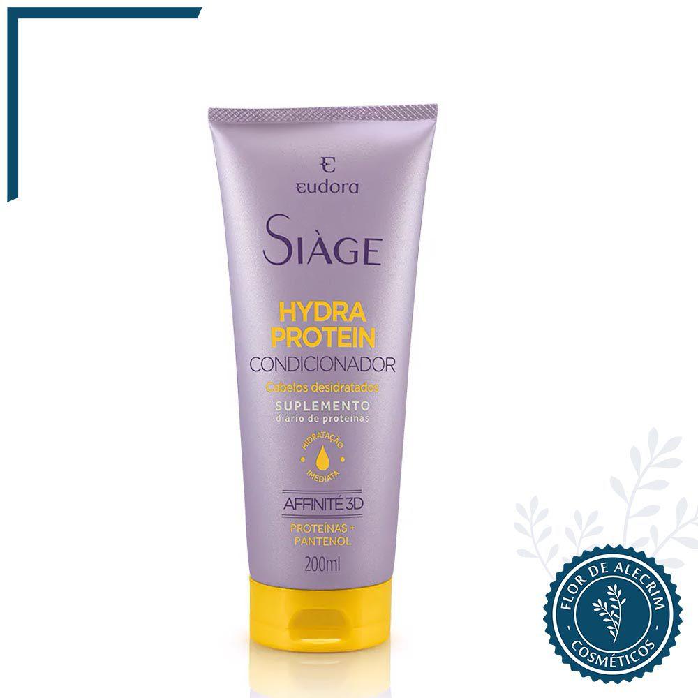 Condicionador Hydra Protein Siàge - 180 ml | Eudora  - Flor de Alecrim - Cosméticos