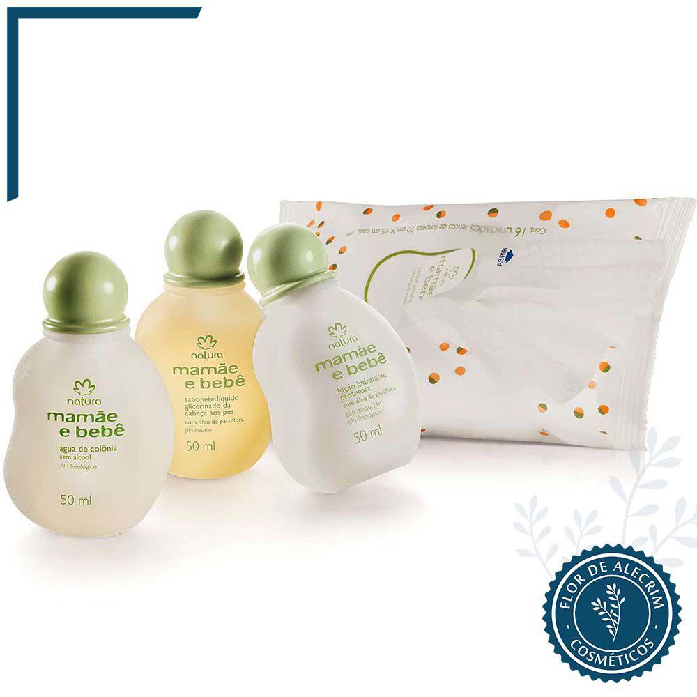 Conjunto Miniatura   Mamãe e Bebê   - Flor de Alecrim - Cosméticos