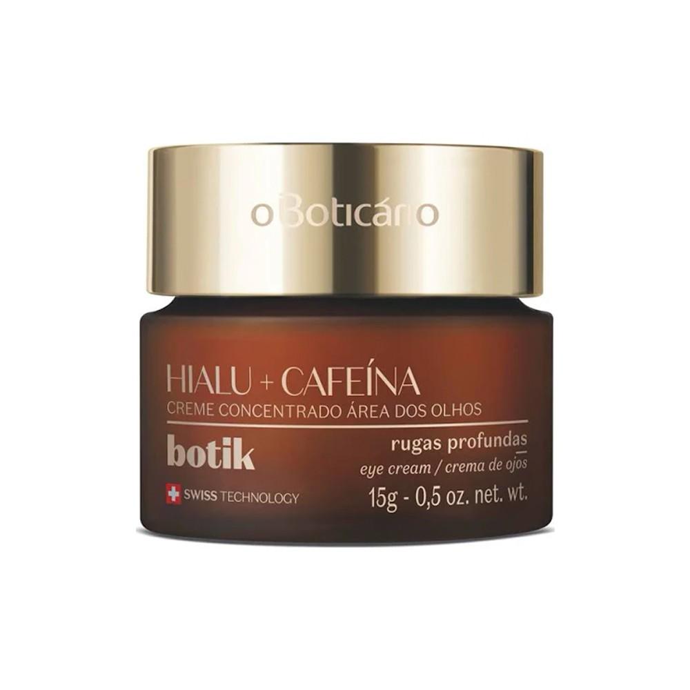 Creme Concentrado para Área dos Olhos Ácido Hialurônico e Cafeína 15 g  - Flor de Alecrim - Cosméticos