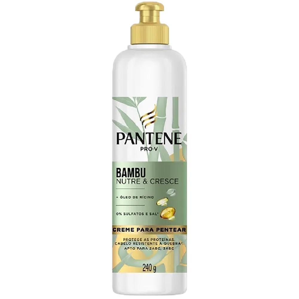 Creme de Pentear Pantene Bambu Nutri & Cresce 240 g  - Flor de Alecrim - Cosméticos