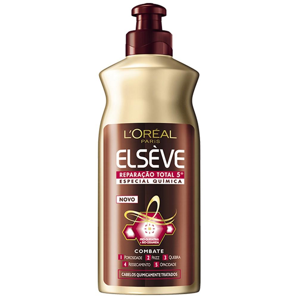 Creme de Pentear Elseve Reparação Total 5 Química 250 Ml  - Flor de Alecrim - Cosméticos