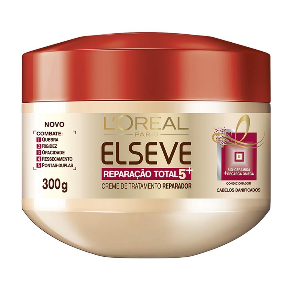 Creme de Tratamento Elseve Reparação Total 5 + - 300 g | L