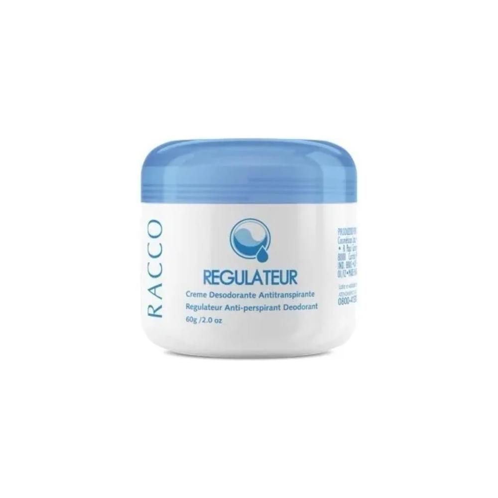 Creme Desodorante Antitranspirante Racco Regulateur 60 g  - Flor de Alecrim - Cosméticos