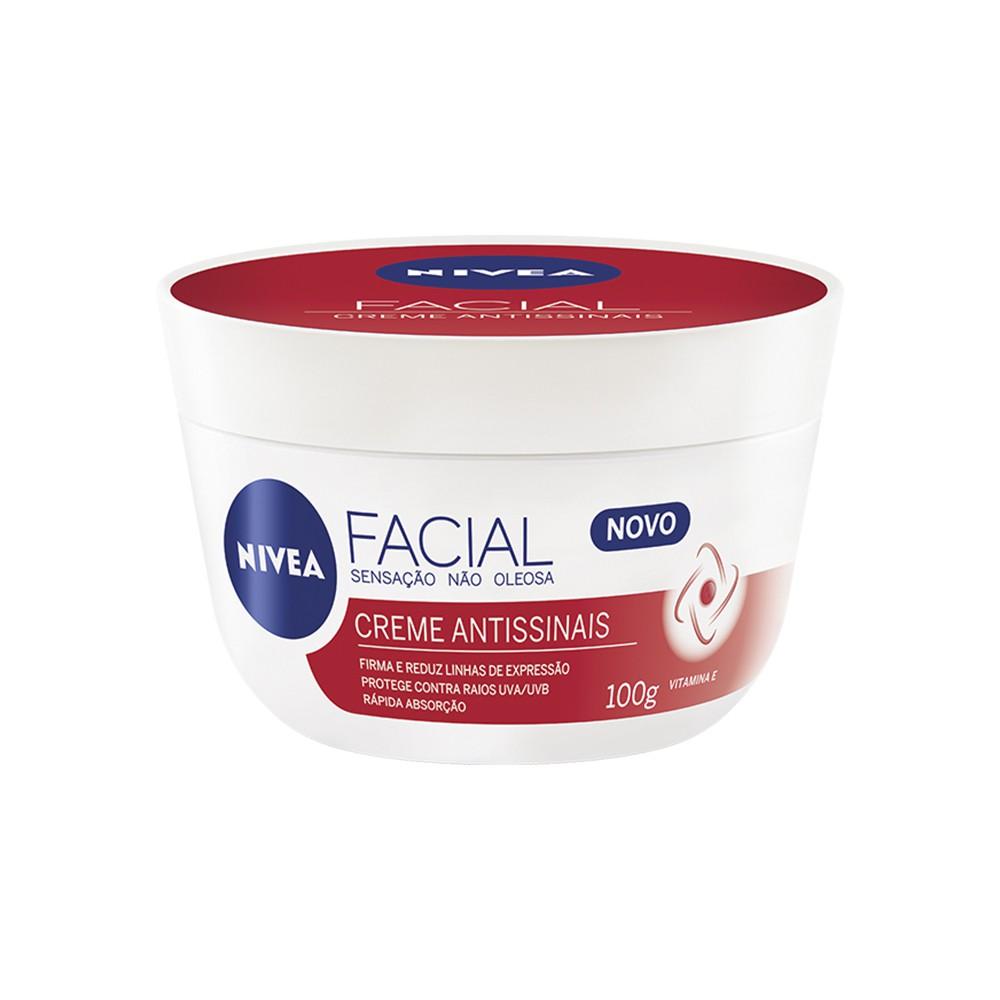 Creme Nivea Facial Antissinais 100 g  - Flor de Alecrim - Cosméticos