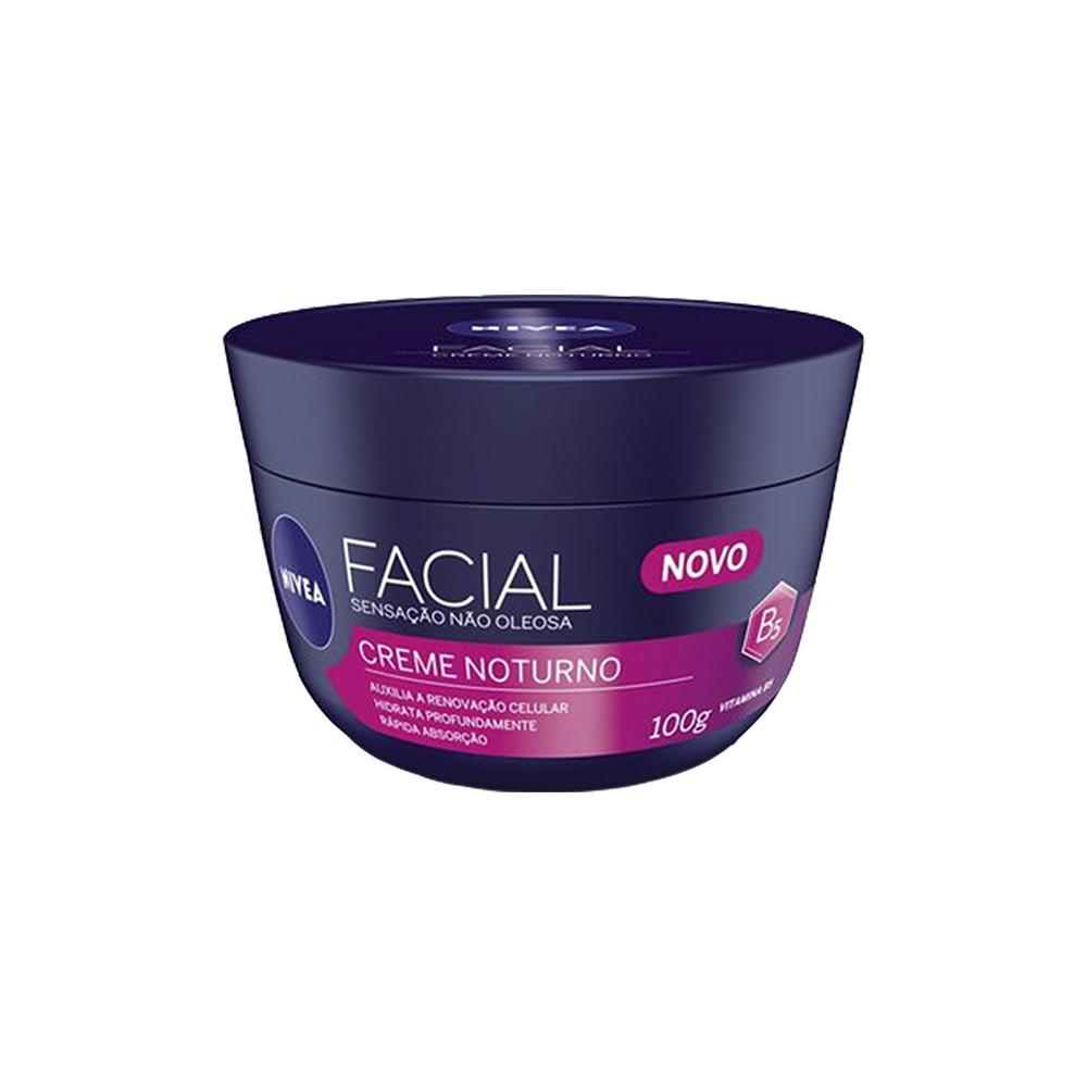 Creme Facial Noturno - 100 g | Nivea  - Flor de Alecrim - Cosméticos