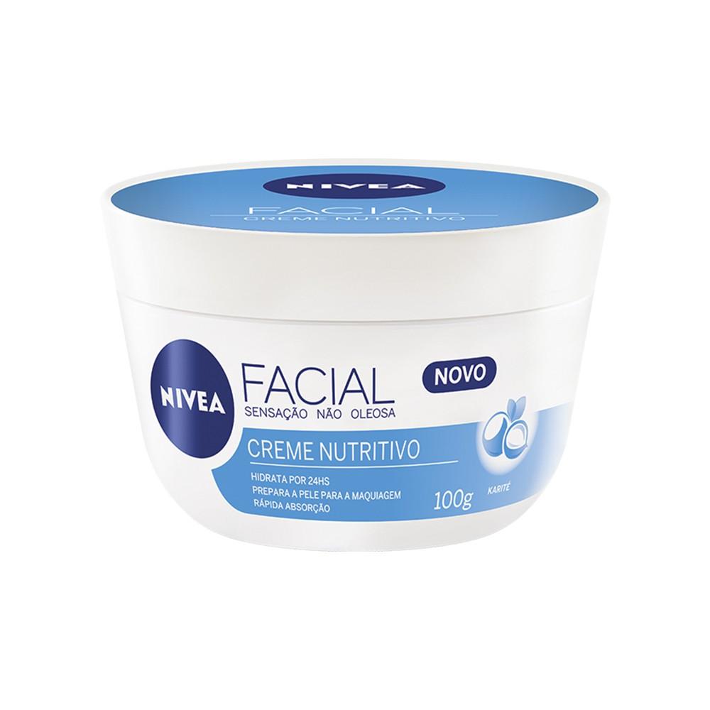 Creme Facial Nutritivo - 100 g | Nivea  - Flor de Alecrim - Cosméticos