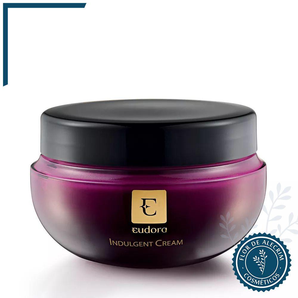 Creme Hidratante Indulgent - 250 g | Eudora  - Flor de Alecrim - Cosméticos