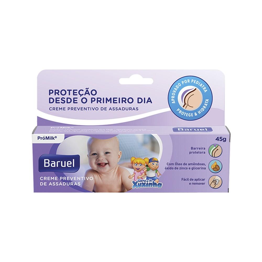 Creme Preventivo de Assaduras Turma da Xuxinha - 45 g | Baruel  - Flor de Alecrim - Cosméticos