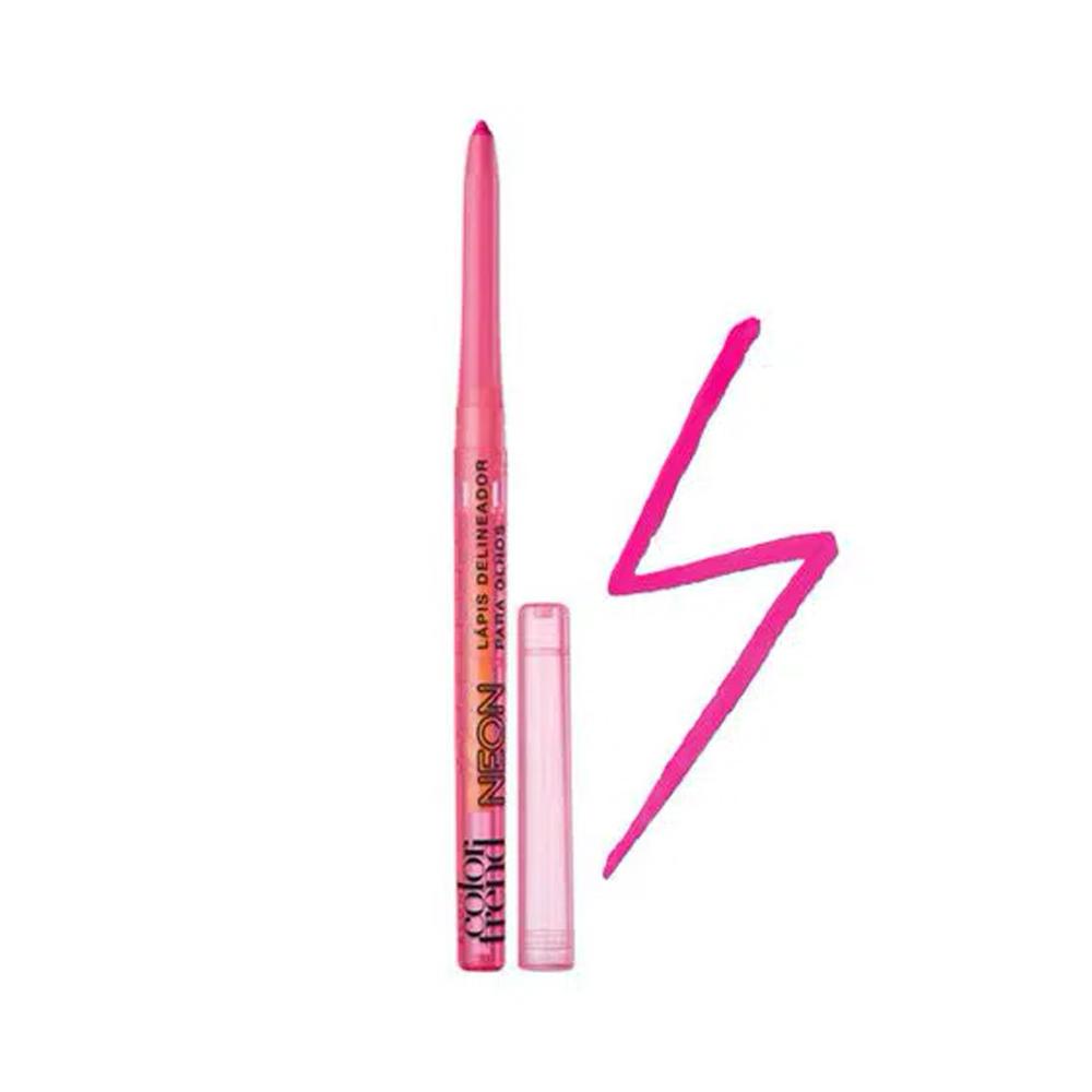 Delineador Retrátil Color Trend Pink 350 Mg  - Flor de Alecrim - Cosméticos