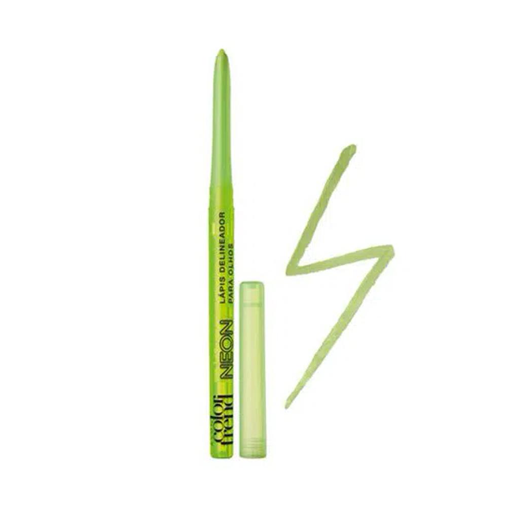 Delineador Retrátil Color Trend Verde 350 Mg  - Flor de Alecrim - Cosméticos