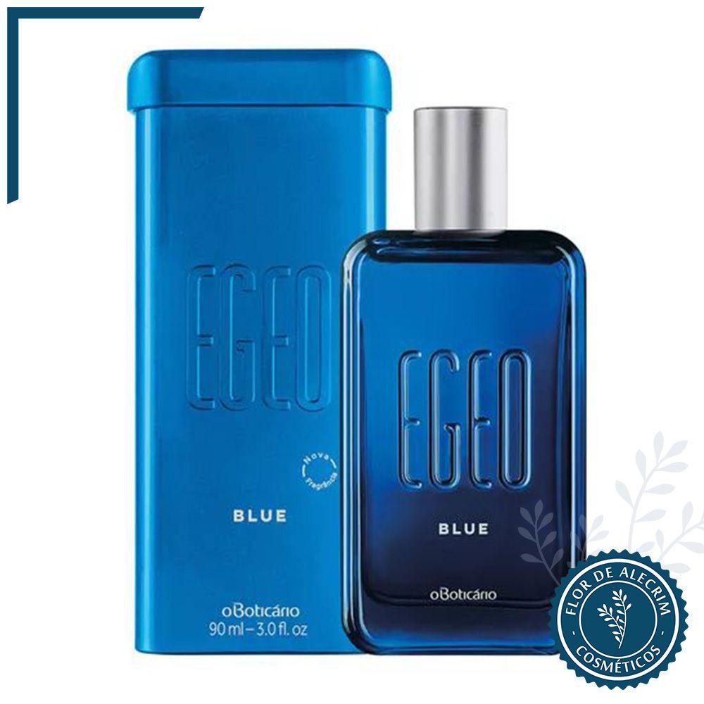 Deo Colônia Egeo Blue - 90 ml | O Boticário  - Flor de Alecrim - Cosméticos