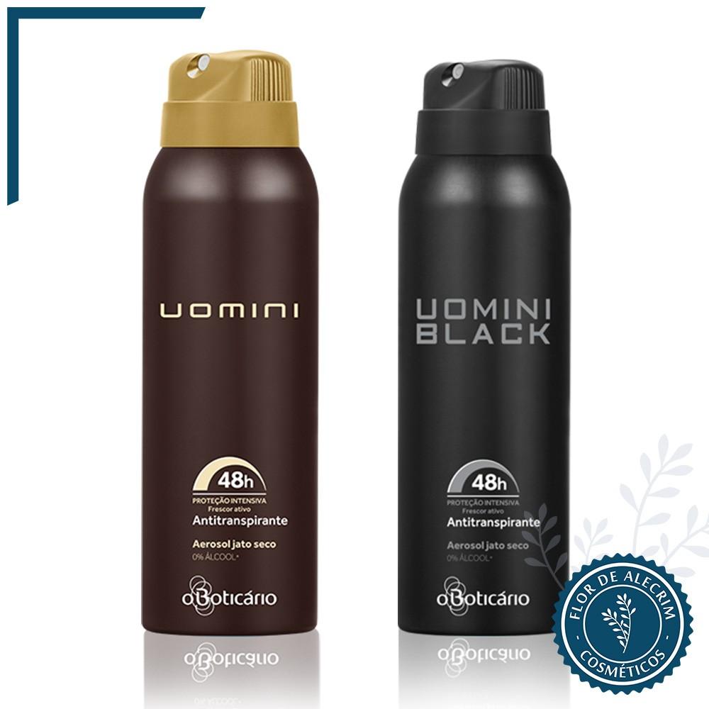 Desodorante Antitranspirante Aerossol | Uomini - 75 g  - Flor de Alecrim - Cosméticos