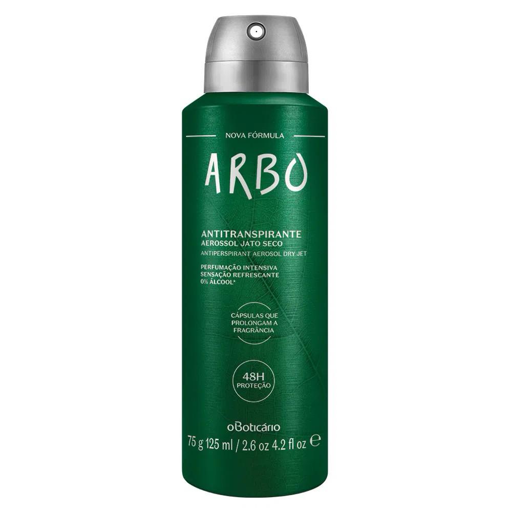 Desodorante Antitranspirante Aerosol Arbo 75 g  - Flor de Alecrim - Cosméticos