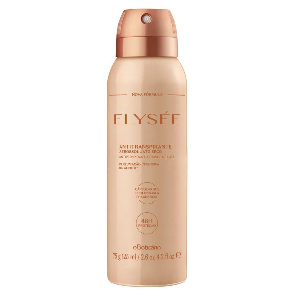 Desodorante Antitranspirante Aerosol Elysée 75 g  - Flor de Alecrim - Cosméticos