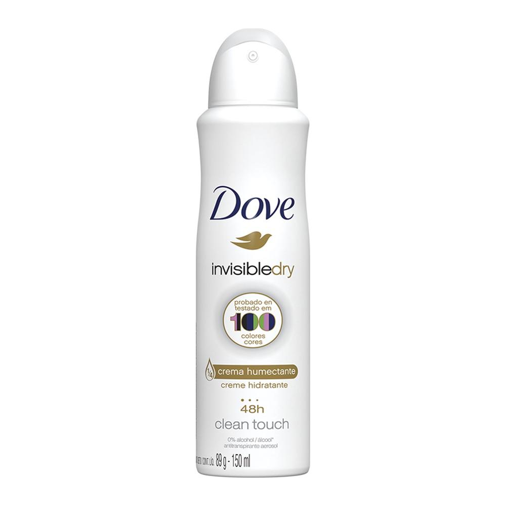 Desodorante Antitranspirante Aerosol Dove Invisible Dry 150 Ml   - Flor de Alecrim - Cosméticos