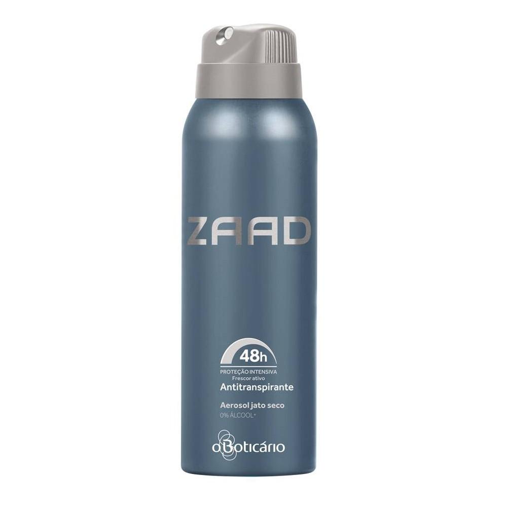 Desodorante Antitranspirante Aerossol Zaad - 125 ml | O Boticário  - Flor de Alecrim - Cosméticos