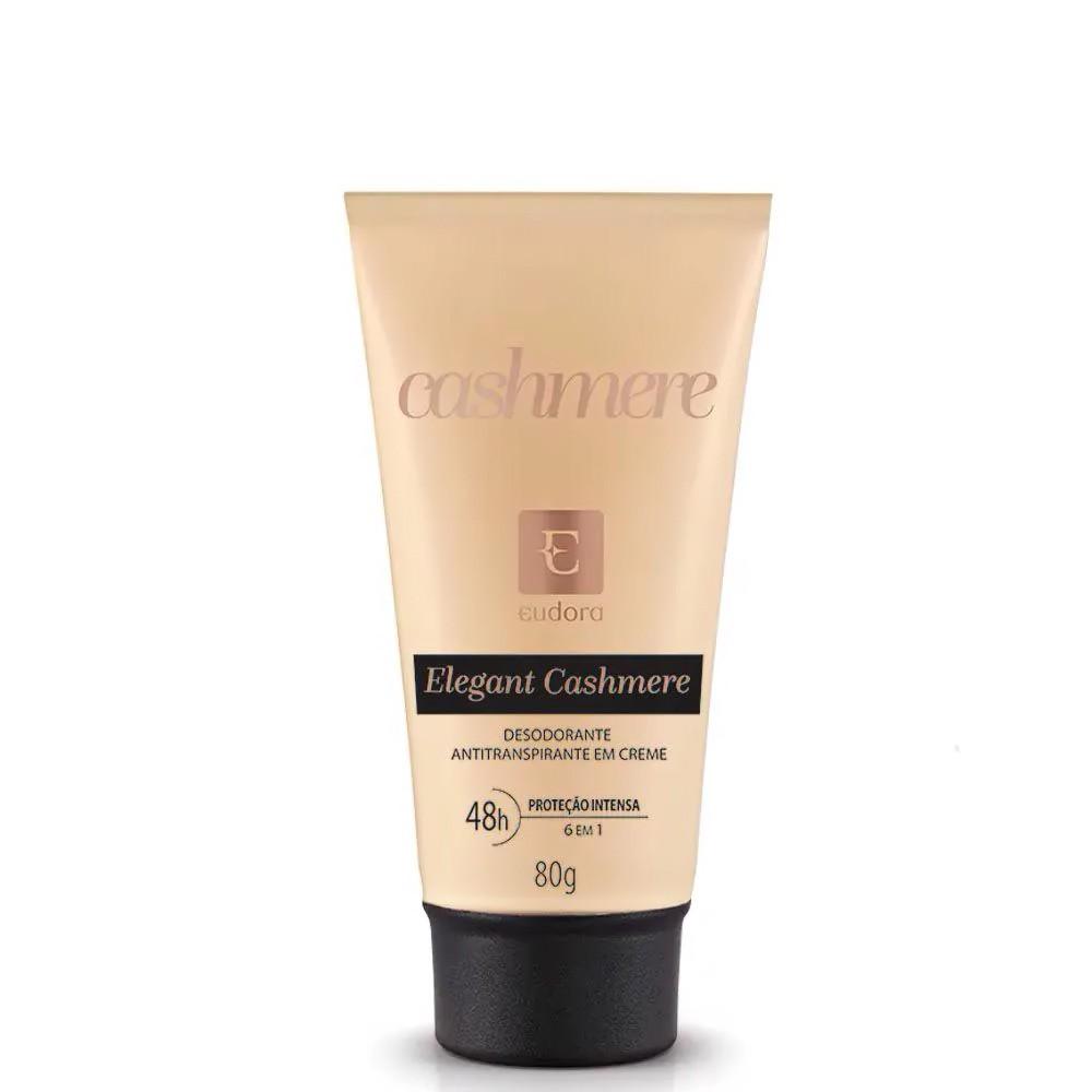 Desodorante Antitranspirante em Creme Elegant Cashmere 80 g  - Flor de Alecrim - Cosméticos