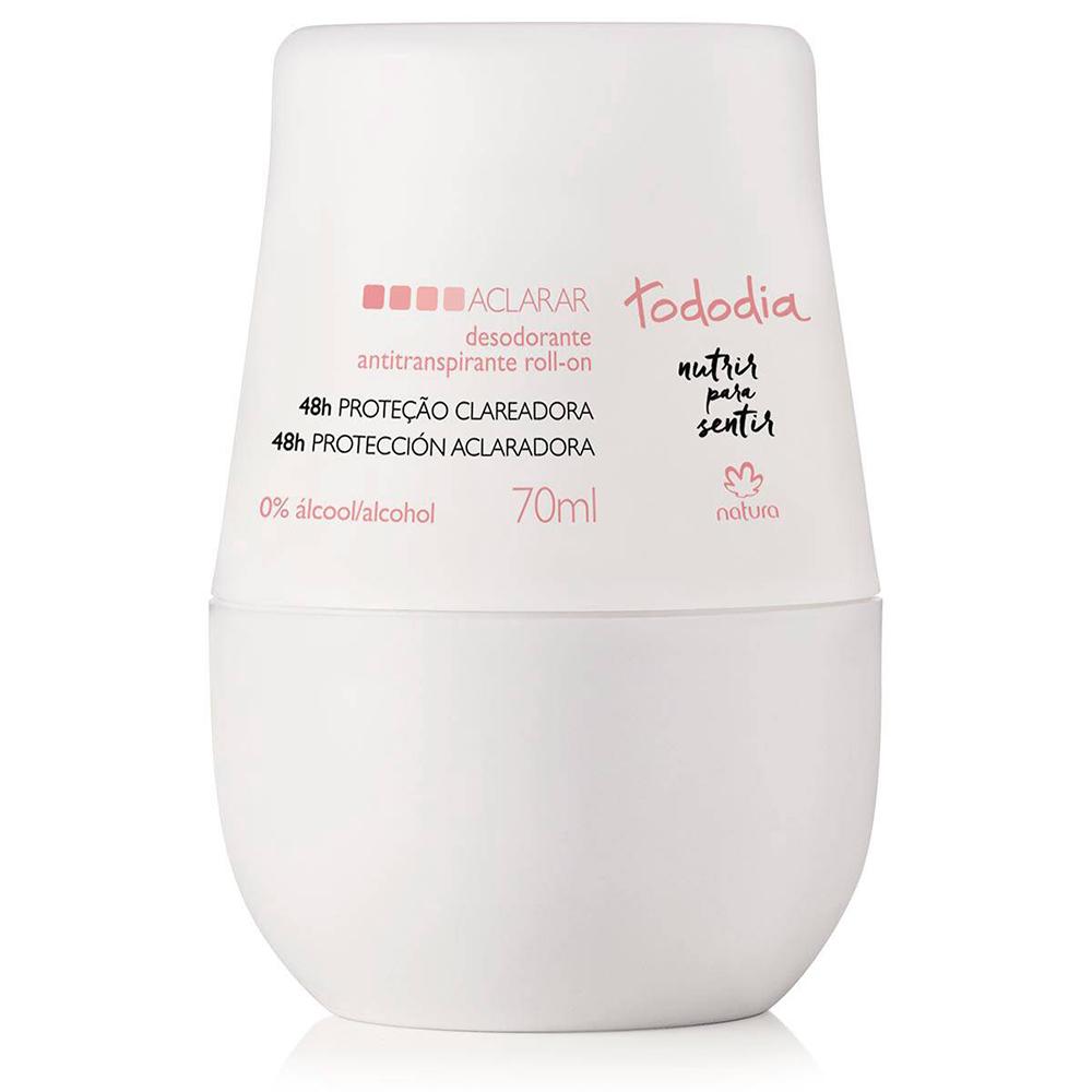 Desodorante Antitranspirante Roll-On Aclara 70 Ml  - Flor de Alecrim - Cosméticos