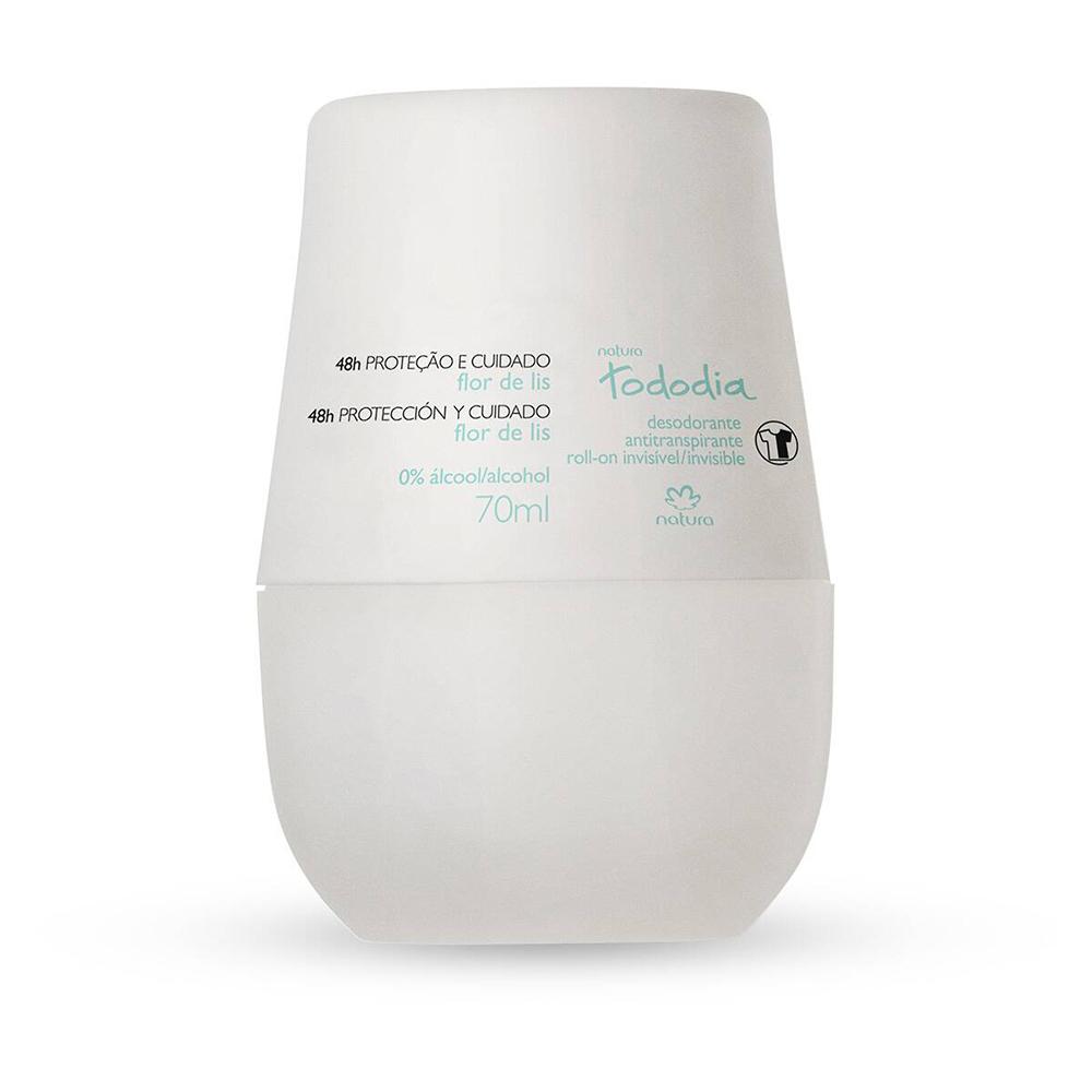 Desodorante Antitranspirante Roll-On Flor de Lis 70 Ml  - Flor de Alecrim - Cosméticos
